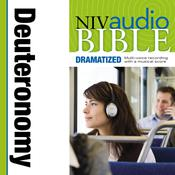 NIV, Audio Bible, Dramatized: Deuteronomy, Audio Download Audiobook, by Zondervan