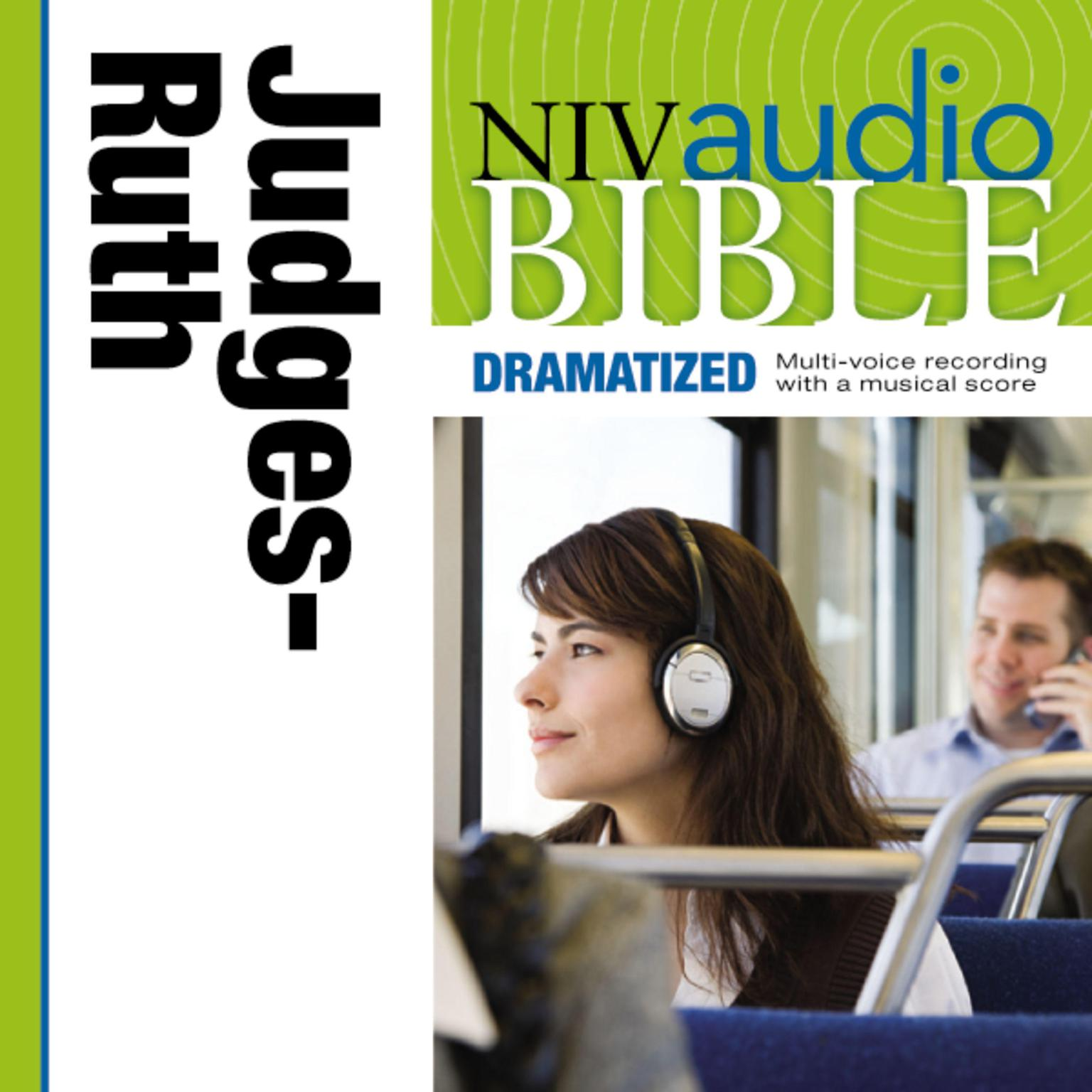 Printable NIV, Audio Bible, Dramatized: Judges and Ruth,  Audio Download Audiobook Cover Art