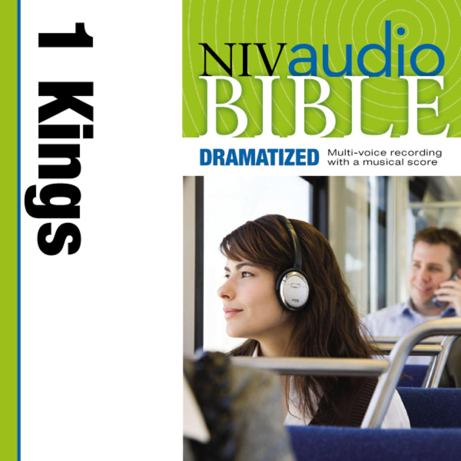 Printable NIV, Audio Bible, Dramatized: 1 Kings, Audio Download Audiobook Cover Art