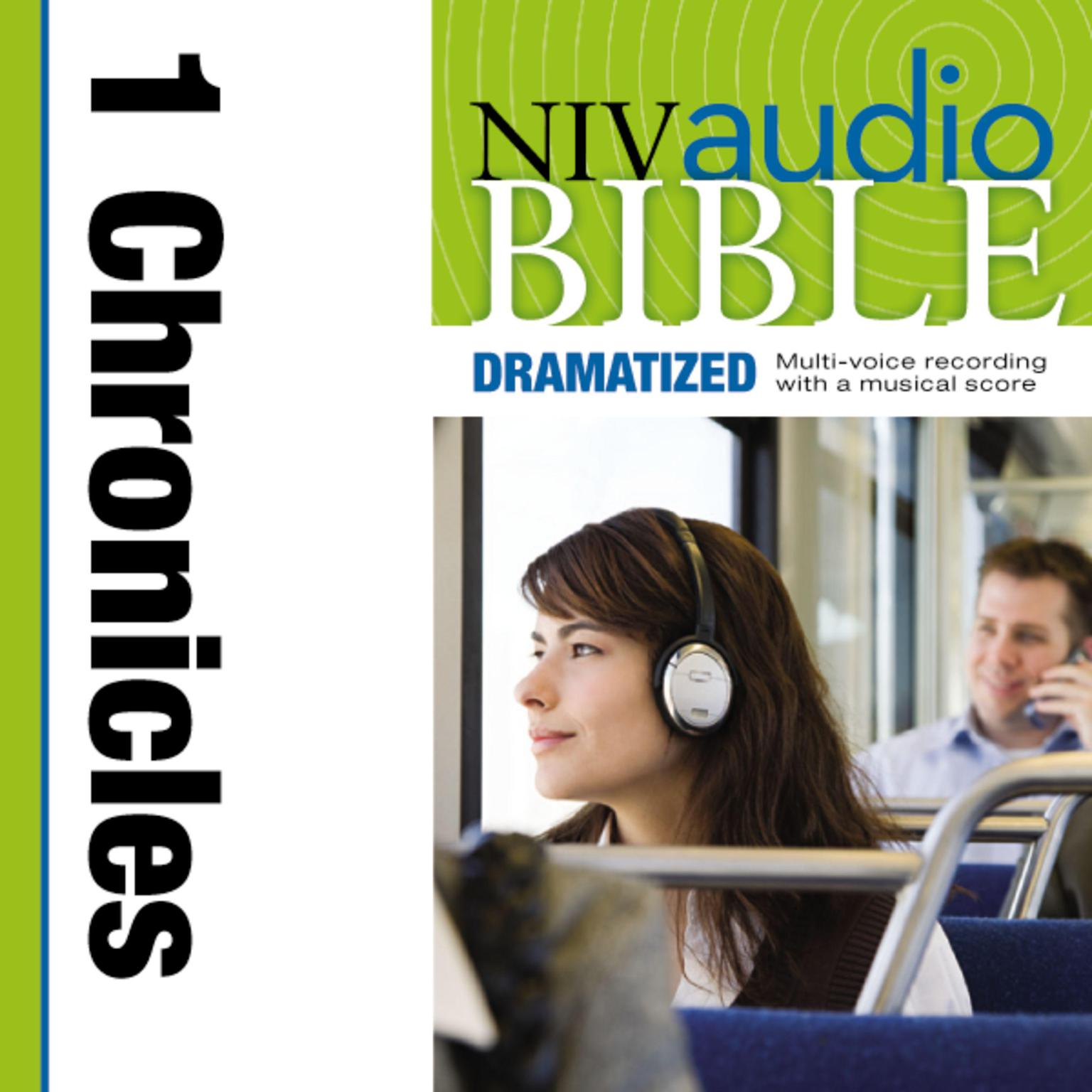 Printable NIV, Audio Bible, Dramatized: 1 Chronicles, Audio Download Audiobook Cover Art