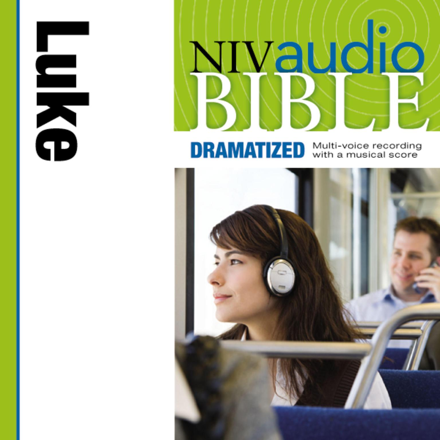 Printable NIV, Audio Bible, Dramatized: Luke, Audio Download Audiobook Cover Art