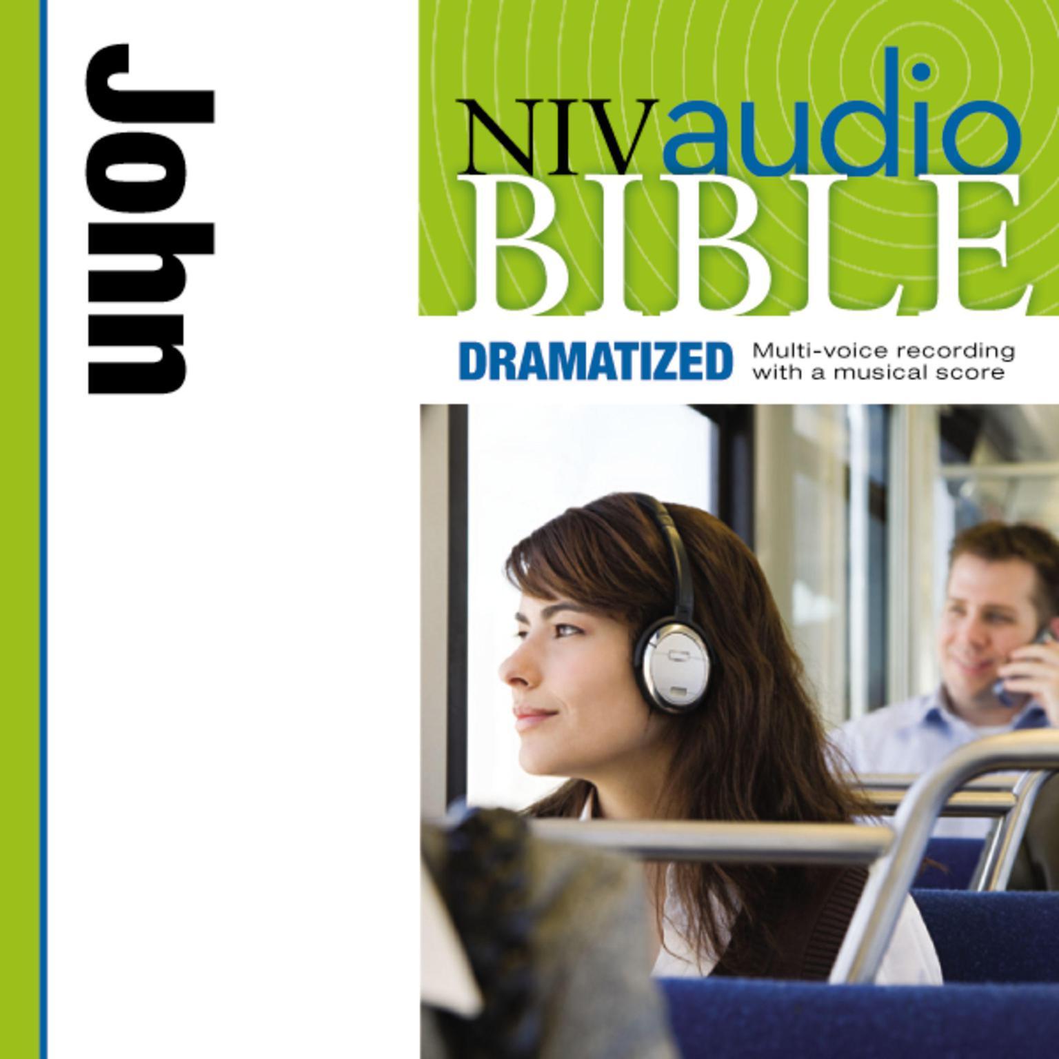 Printable NIV, Audio Bible, Dramatized: John, Audio Download Audiobook Cover Art