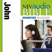 NIV, Audio Bible, Dramatized: John, Audio Download Audiobook, by Zondervan