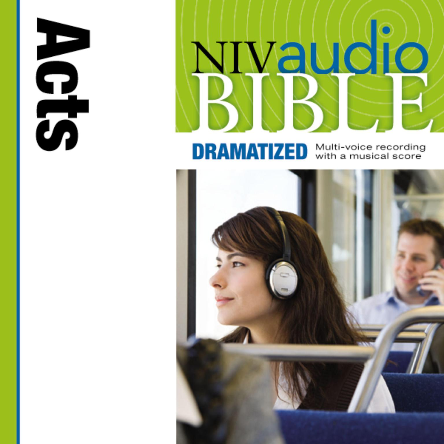Printable NIV, Audio Bible, Dramatized: Acts, Audio Download Audiobook Cover Art