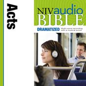 NIV, Audio Bible, Dramatized: Acts, Audio Download Audiobook, by Zondervan
