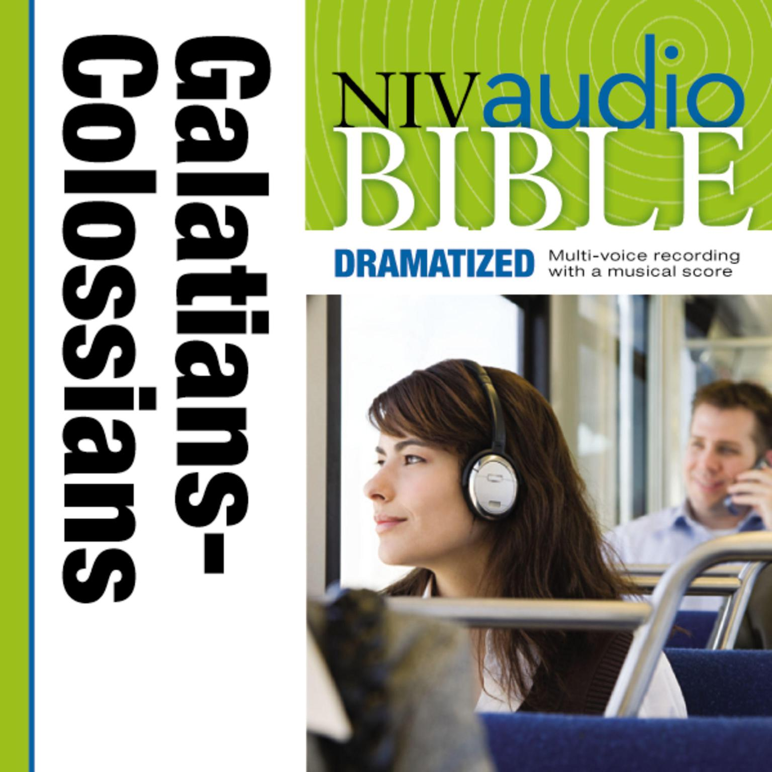 Printable NIV, Audio Bible, Dramatized: Galatians, Ephesians, Philippians, and Colossians, Audio Download Audiobook Cover Art