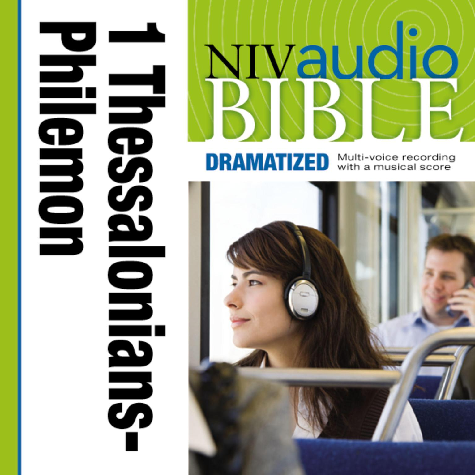 Printable NIV, Audio Bible, Dramatized: 1 and 2 Thessalonians, 1 and 2 Timothy, Titus, and Philemon, Audio Download Audiobook Cover Art