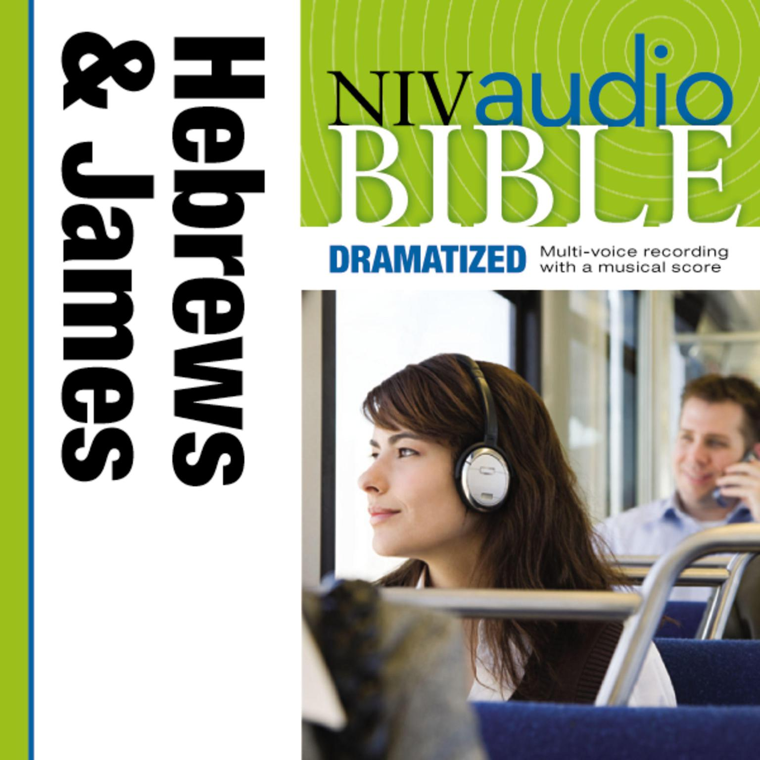 Printable NIV, Audio Bible, Dramatized: Hebrews and James, Audio Download Audiobook Cover Art
