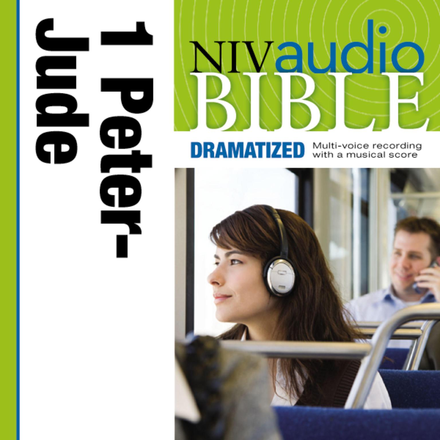 Printable NIV, Audio Bible, Dramatized: 1 and 2 Peter; 1, 2 and 3 John, and Jude, Audio Download Audiobook Cover Art