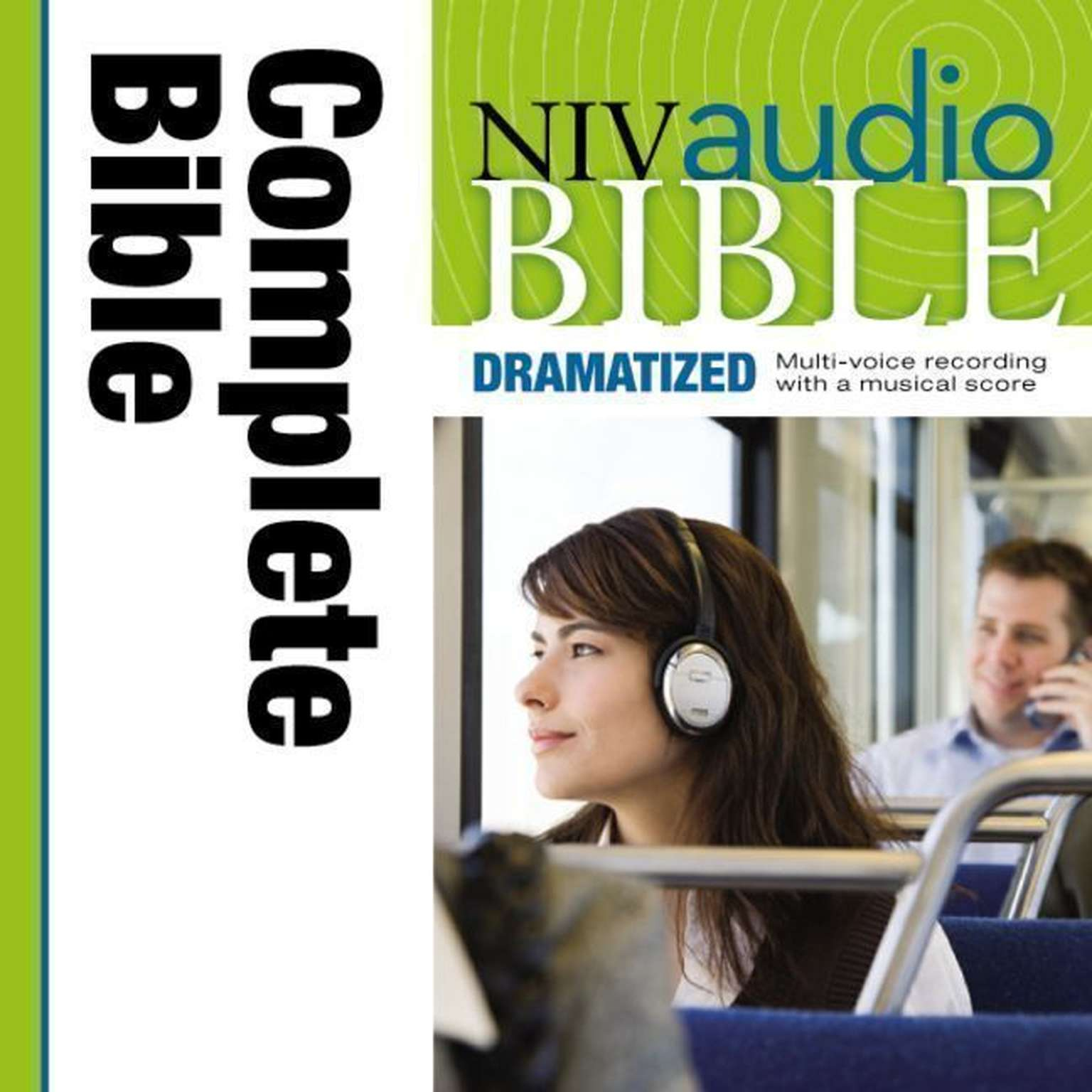 Printable NIV, Audio Bible, Dramatized, Audio Download Audiobook Cover Art