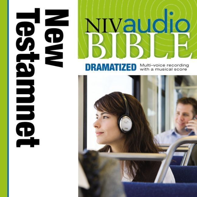 Printable NIV, New Testament Audio Bible, Dramatized, Audio Download Audiobook Cover Art