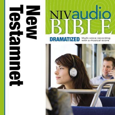 Dramatized Audio Bible - New International Version, NIV: New Testament Audiobook, by