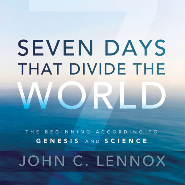 Printable Seven Days That Divide the World: The Beginning According to Genesis and Science Audiobook Cover Art