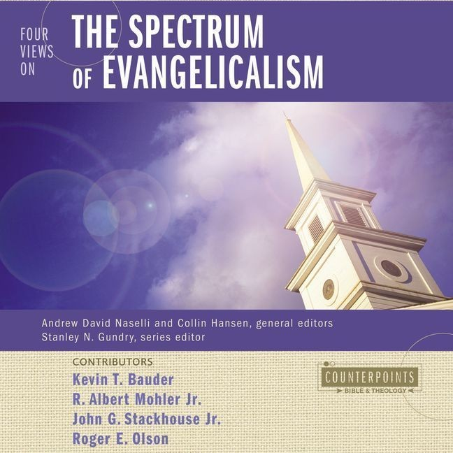 Printable Four Views on the Spectrum of Evangelicalism Audiobook Cover Art