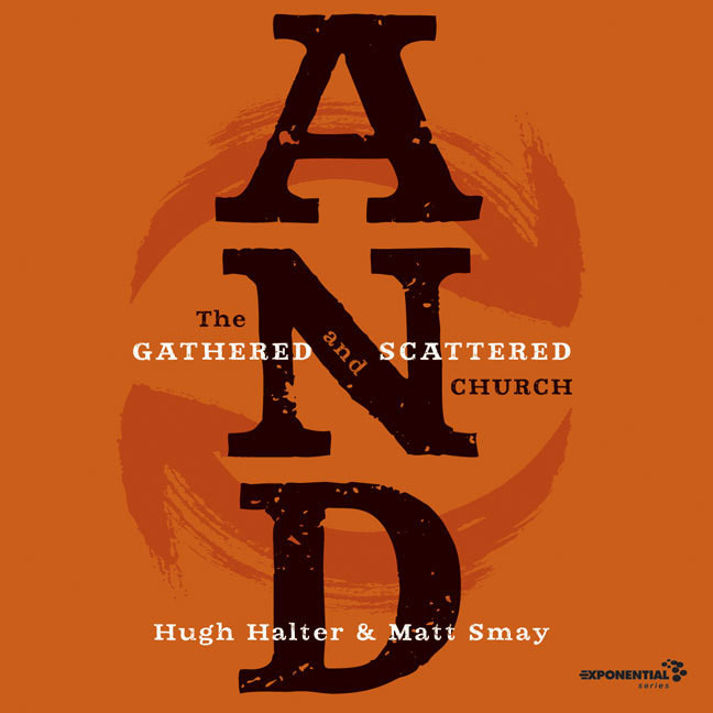 Printable AND: The Gathered and Scattered Church Audiobook Cover Art
