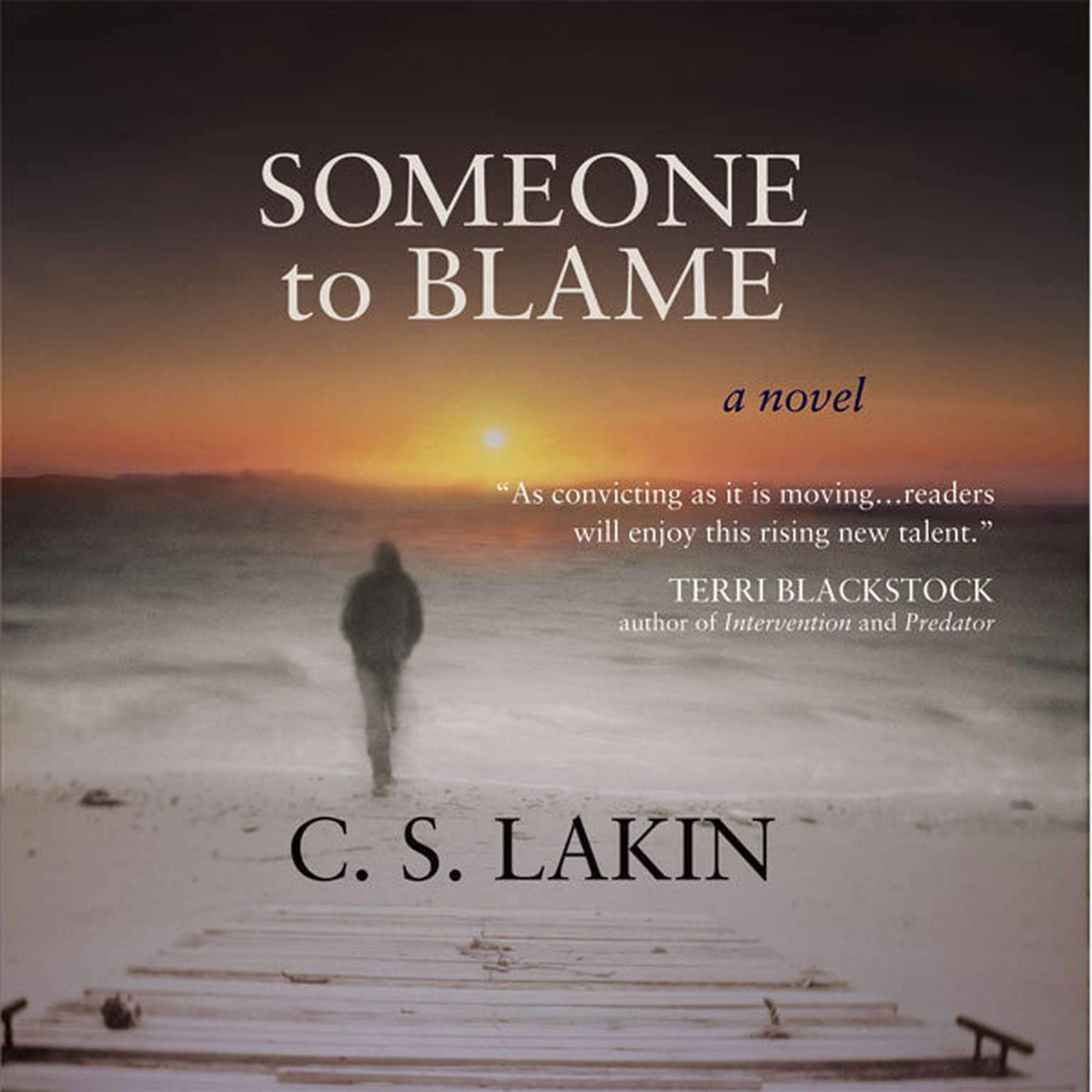 Printable Someone to Blame Audiobook Cover Art