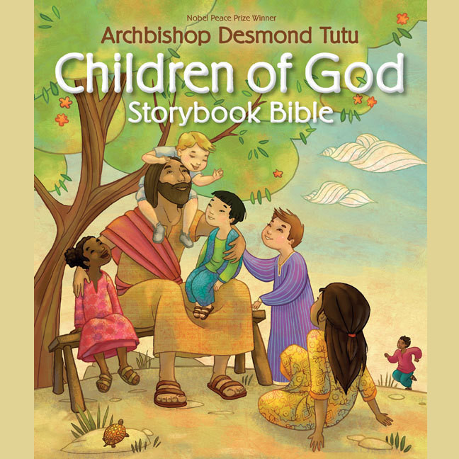 Printable Children of God Storybook Bible Audiobook Cover Art