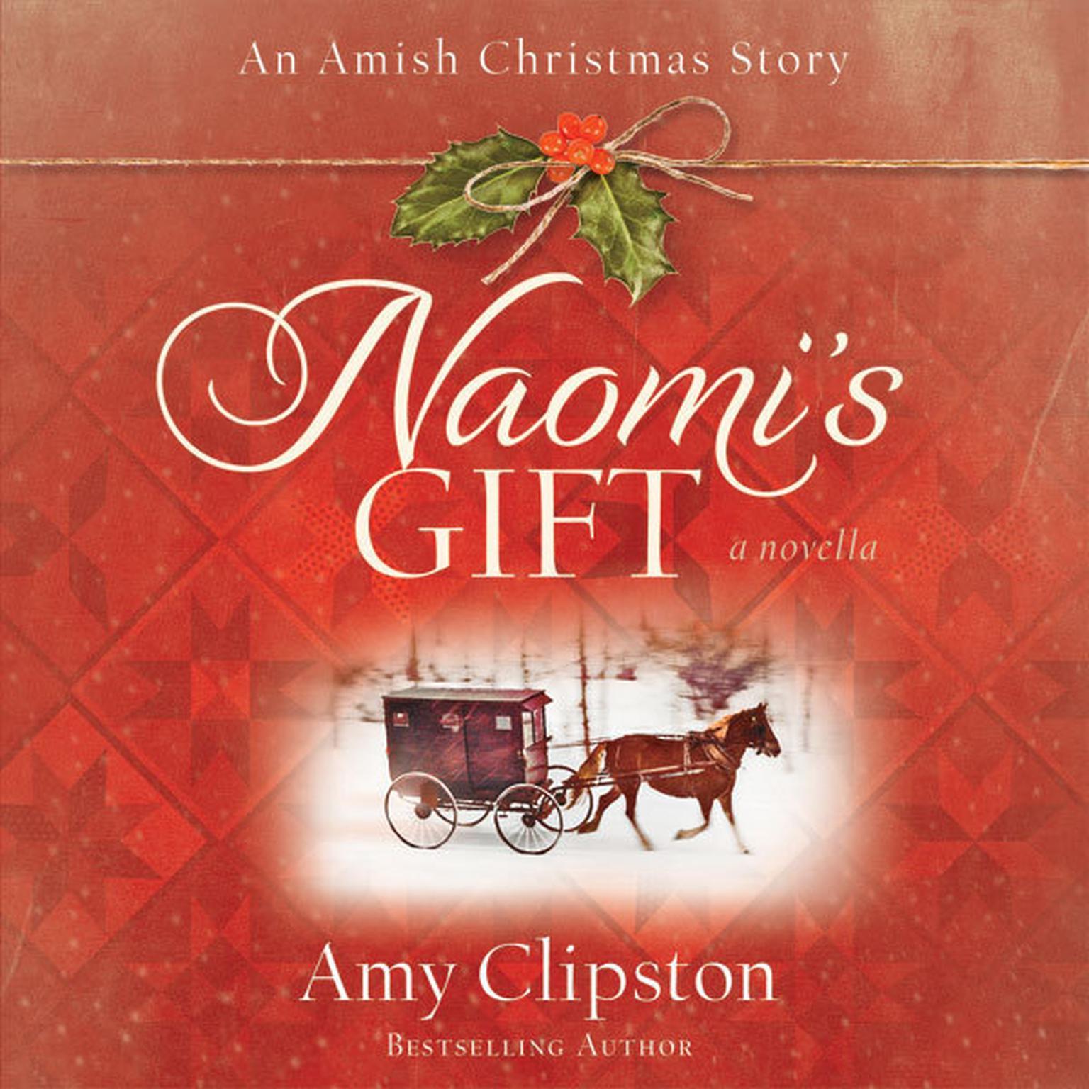 Printable Naomi's Gift: An Amish Christmas Story Audiobook Cover Art