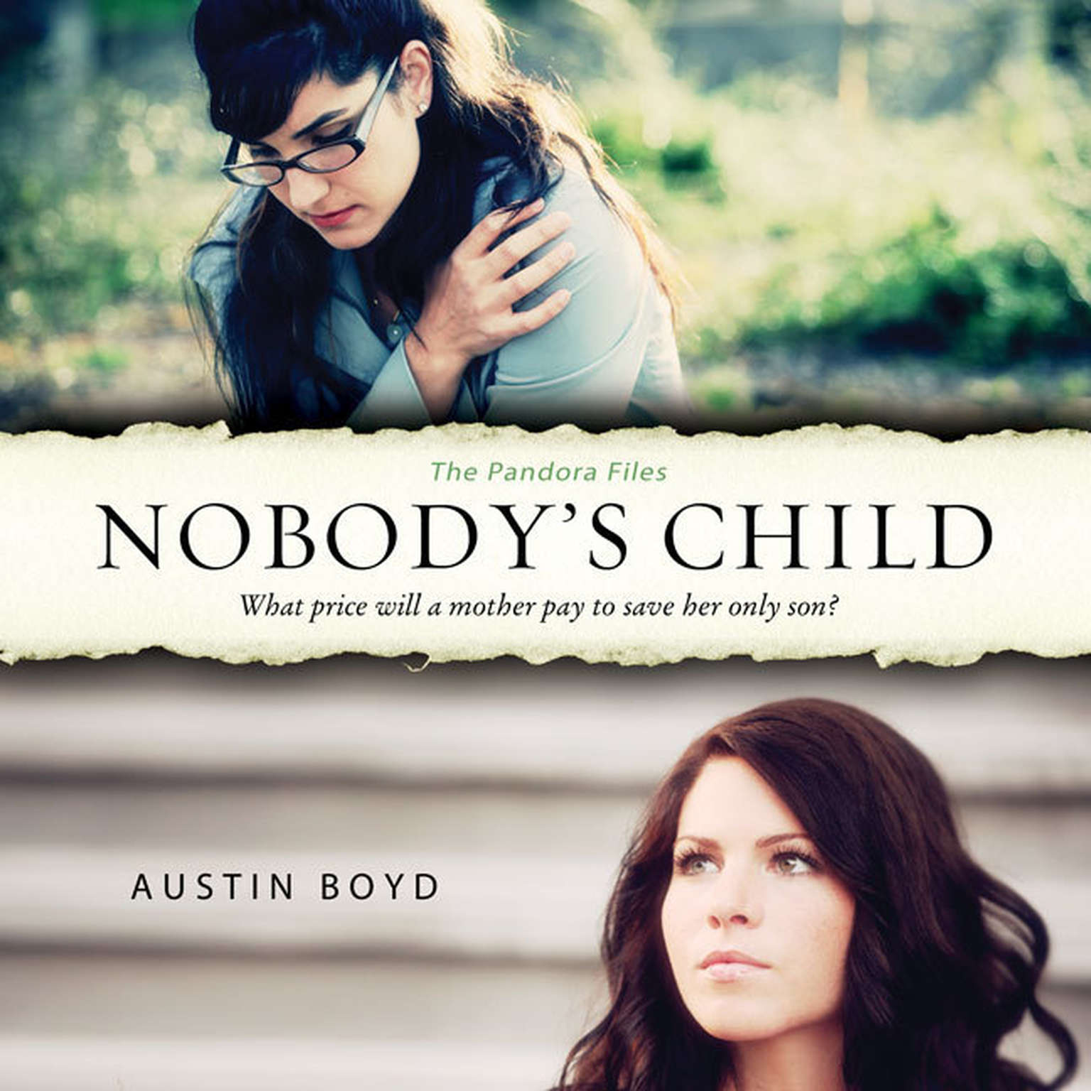 Printable Nobody's Child Audiobook Cover Art