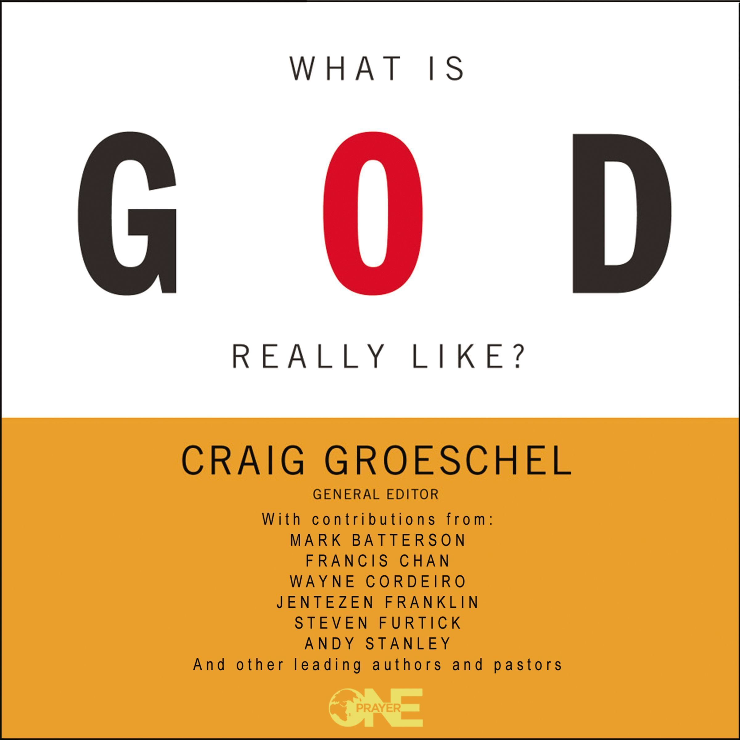 Printable What Is God Really Like? Audiobook Cover Art