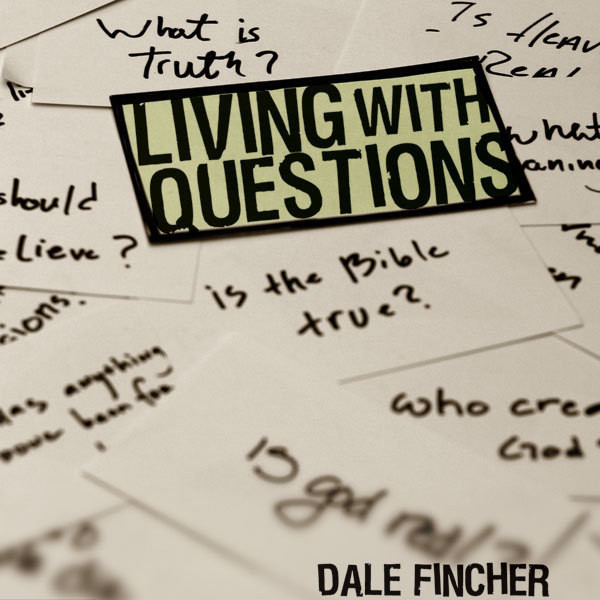 Printable Living with Questions Audiobook Cover Art