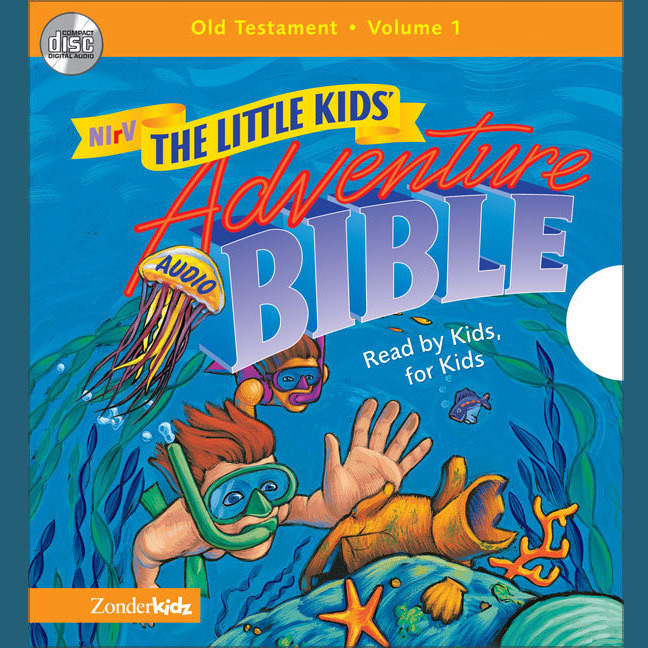 Printable NIrV, Little Kids Adventure Audio Bible: Old Testament Vol. 1 (Unabridged), Audio Audiobook Cover Art