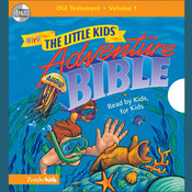 NIrV, Little Kids Adventure Audio Bible: Old Testament Vol. 1 (Unabridged), Audio, by Zondervan, Zondervan