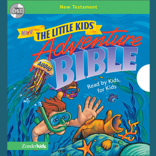 Printable NIrV, Little Kids Adventure Audio Bible: New Testament (Unabridged), Audio Audiobook Cover Art