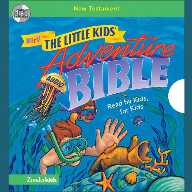 Printable NIrV, Little Kids Adventure Audio Bible: New Testament (Unabridged), Audio Audiobook Cover Art