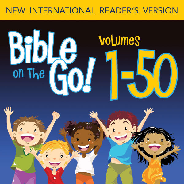 Printable Bible on the Go Volumes 1-50 from the Old and New Testaments Audiobook Cover Art