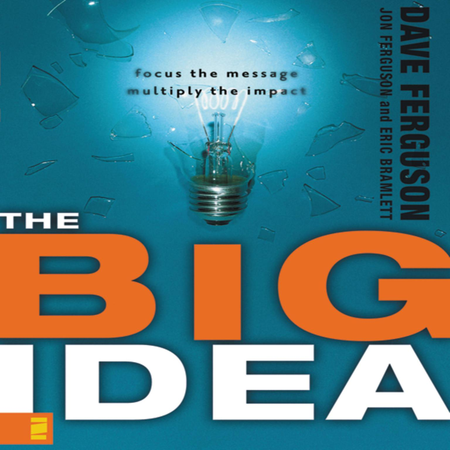 Printable The Big Idea: Focus the Message---Multiply the Impact Audiobook Cover Art