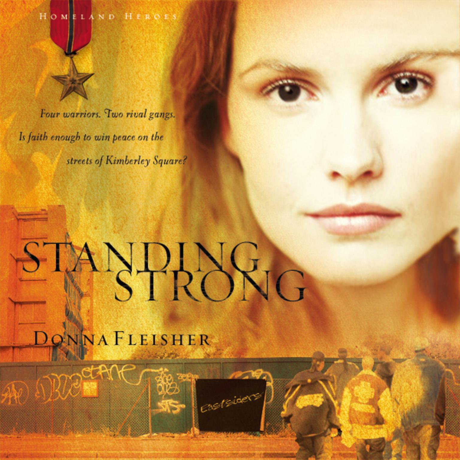 Printable Standing Strong Audiobook Cover Art