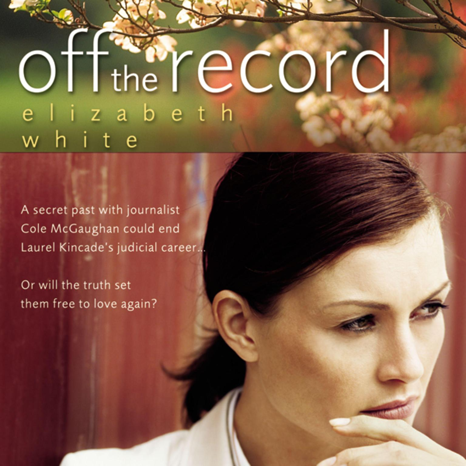 Printable Off the Record Audiobook Cover Art
