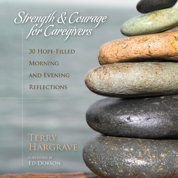 Printable Strength and Courage for Caregivers: 30 Hope-Filled Morning and Evening Reflections Audiobook Cover Art