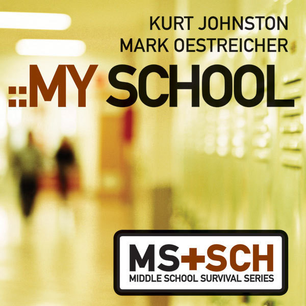 Printable My School Audiobook Cover Art