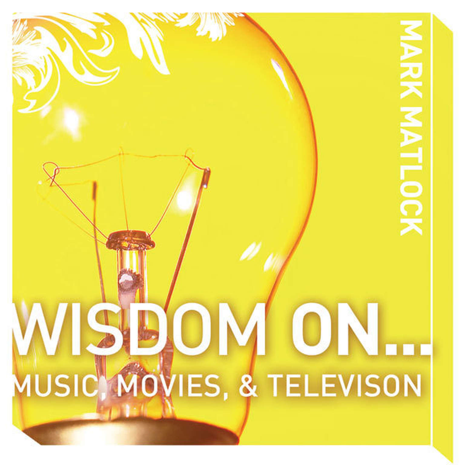 Printable Wisdom On … Music, Movies and Television Audiobook Cover Art