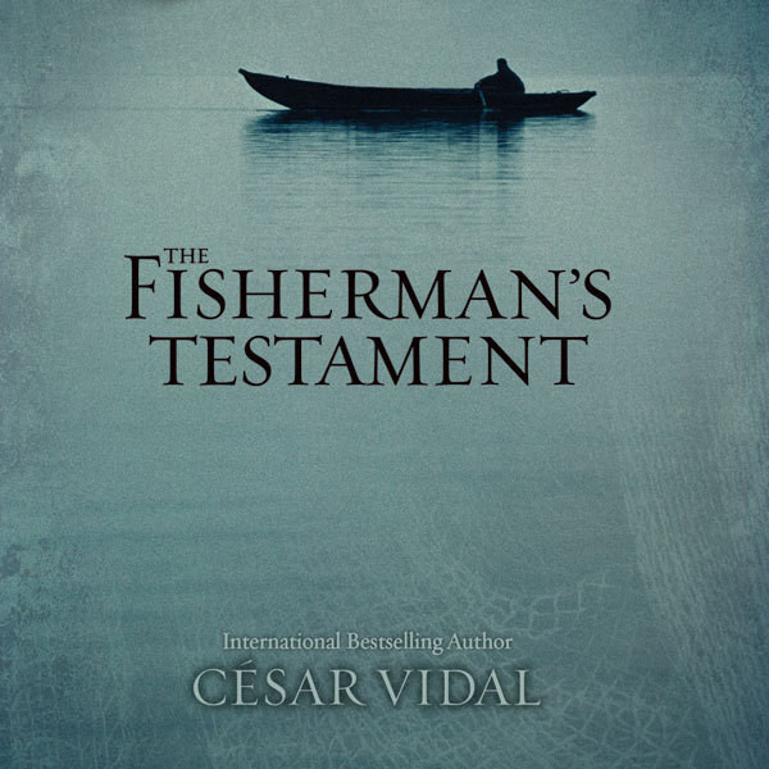 Printable The Fisherman's Testament Audiobook Cover Art