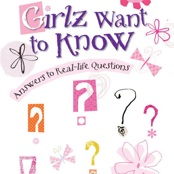 Printable Girlz Want to Know: Answers to Real-Life Questions Audiobook Cover Art