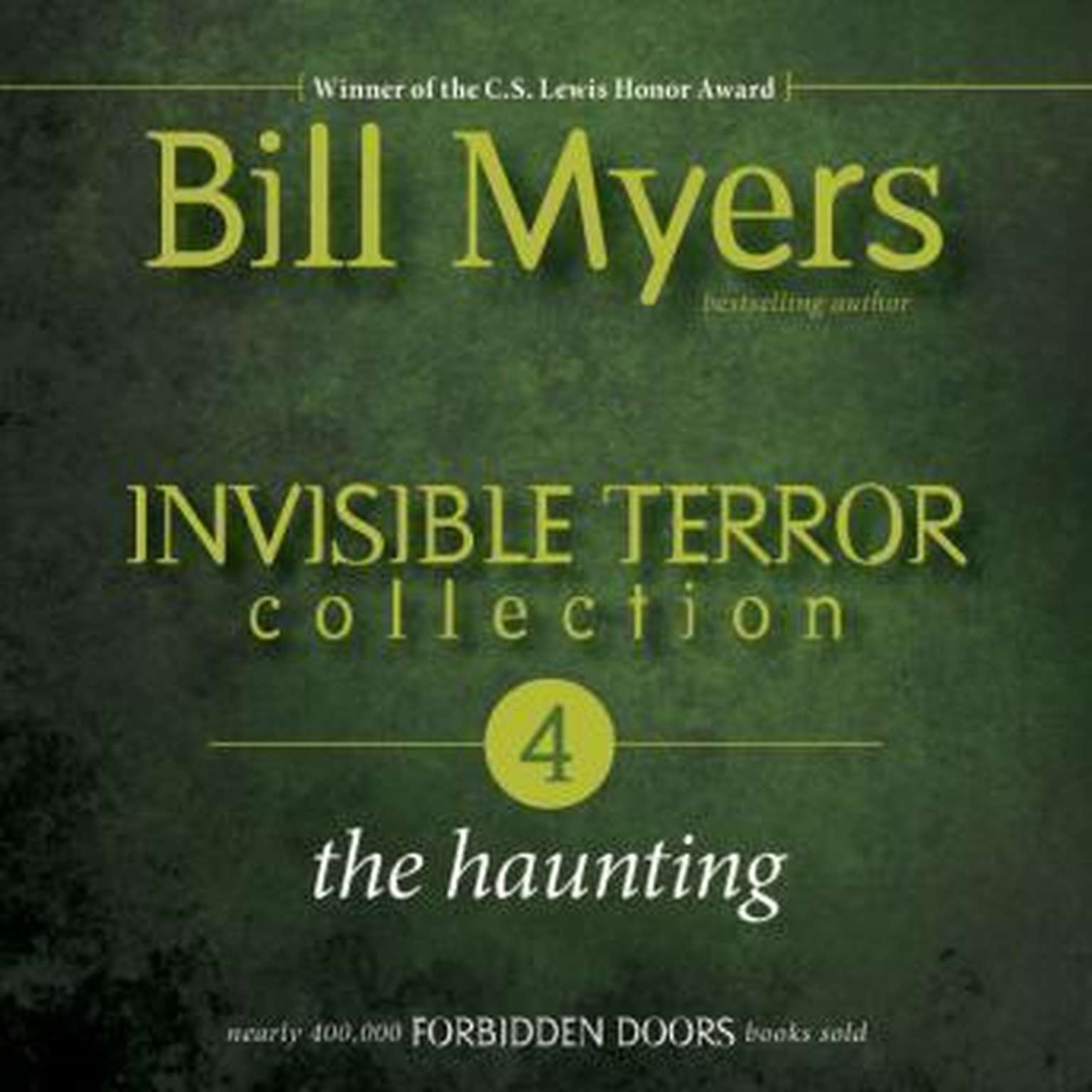 Printable Invisible Terror Collection: The Haunting Audiobook Cover Art