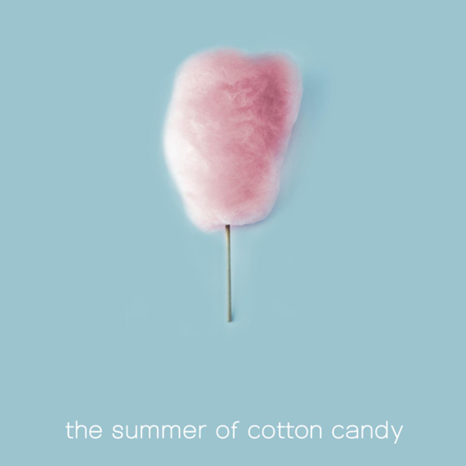 Printable The Summer of Cotton Candy Audiobook Cover Art
