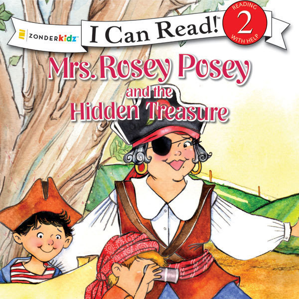 Printable Mrs. Rosey Posey and the Hidden Treasure Audiobook Cover Art