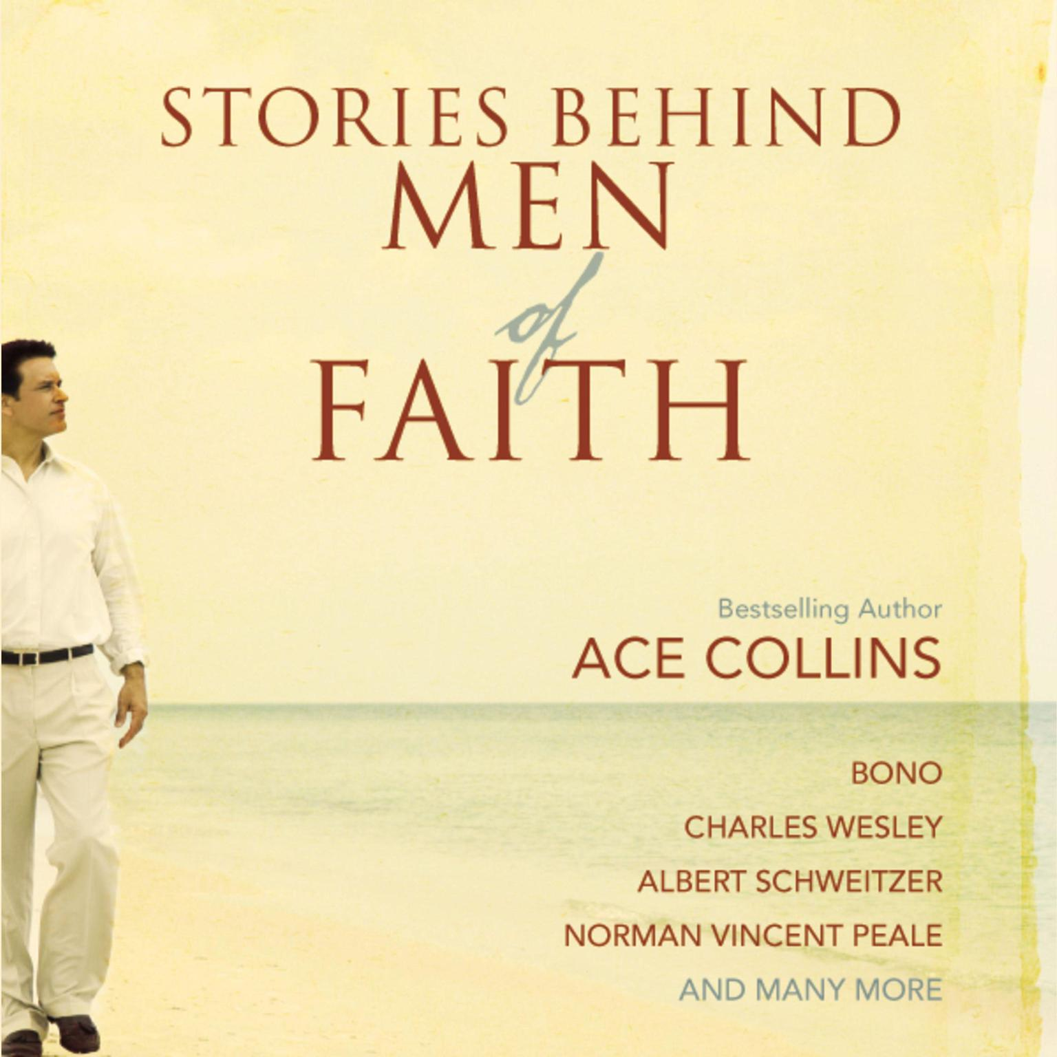 Printable Stories Behind Men of Faith Audiobook Cover Art