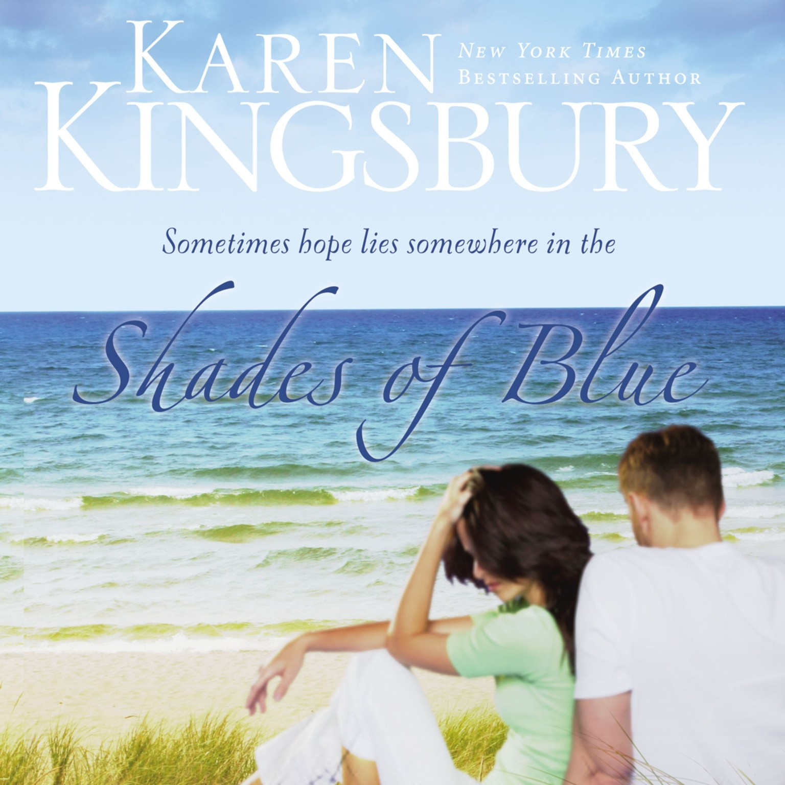 Printable Shades of Blue Audiobook Cover Art