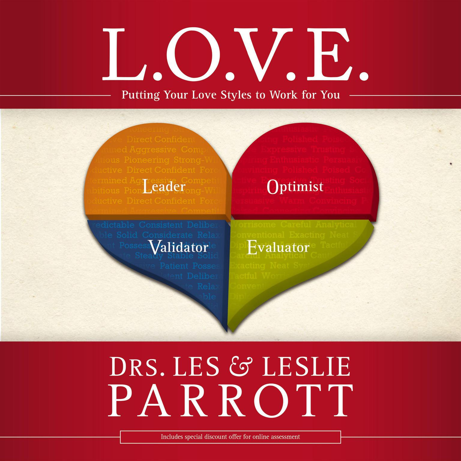 Printable L. O. V. E.: Putting Your Love Styles to Work for You Audiobook Cover Art