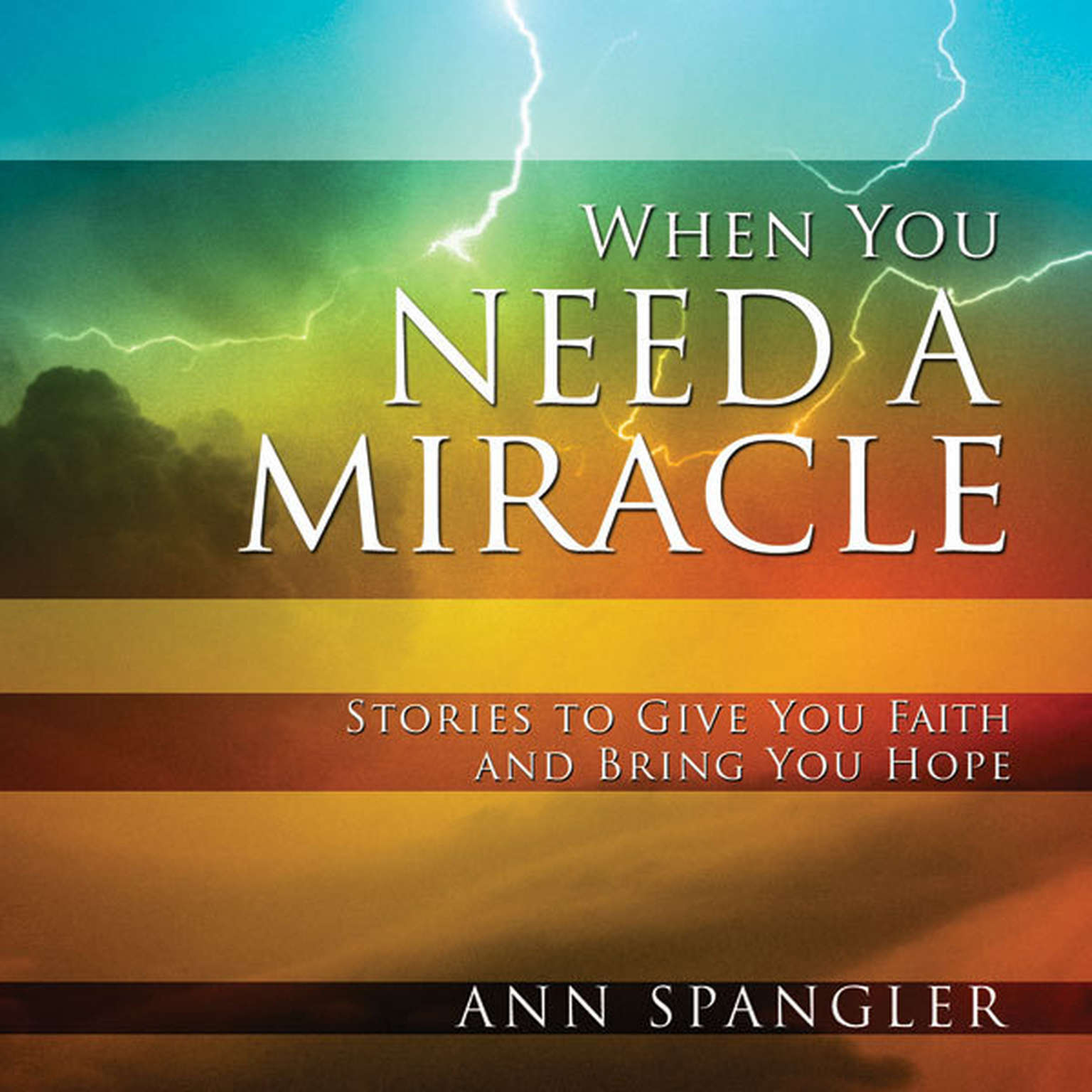 Printable When You Need a Miracle: Daily Readings Audiobook Cover Art