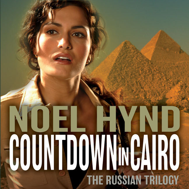 Printable Countdown in Cairo Audiobook Cover Art