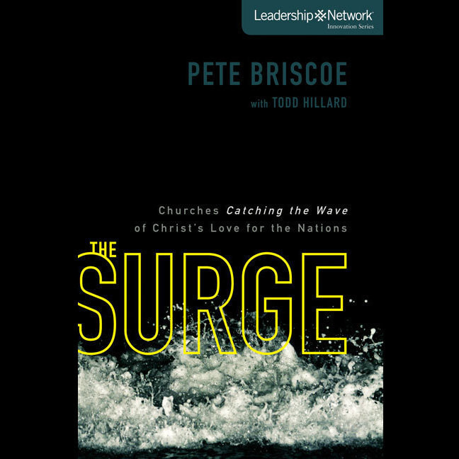 Printable The Surge: Churches Catching the Wave of Christ's Love for the Nations Audiobook Cover Art