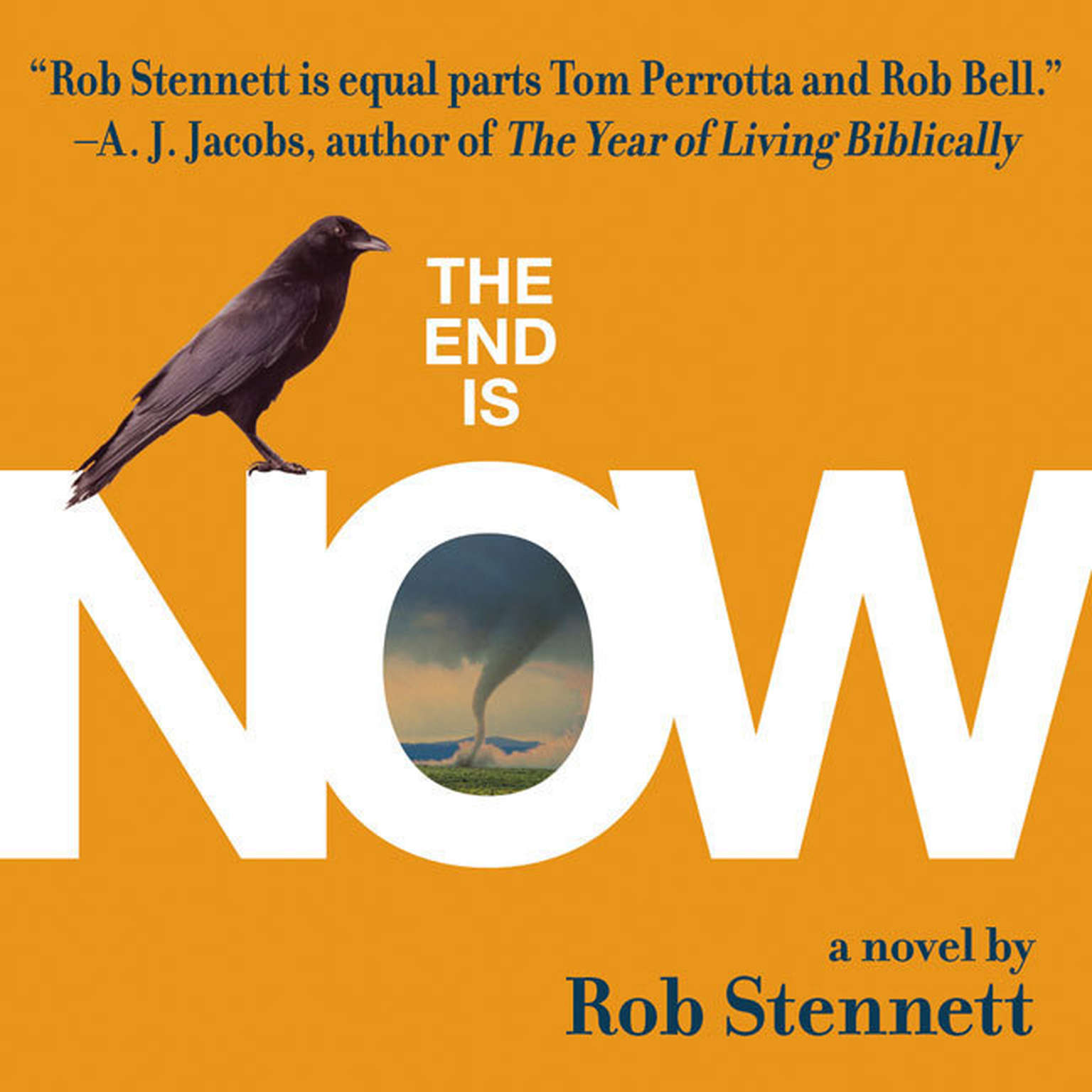 Printable The End Is Now Audiobook Cover Art