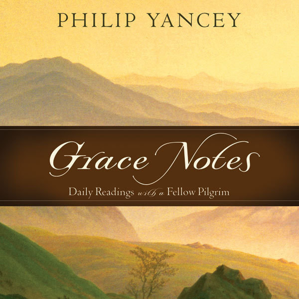 Printable Grace Notes: Daily Readings with Philip Yancey Audiobook Cover Art