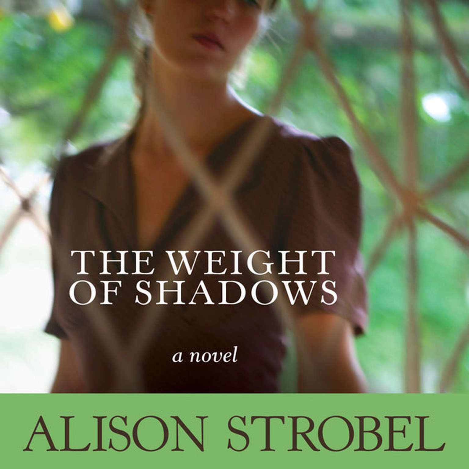 Printable Weight of Shadows: A Novel Audiobook Cover Art